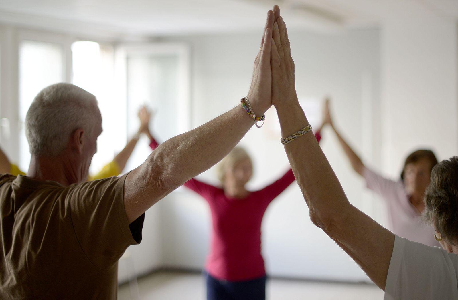 Gymnastikkurs / Gymnastik / Selbsthilfegruppe Osteoporos