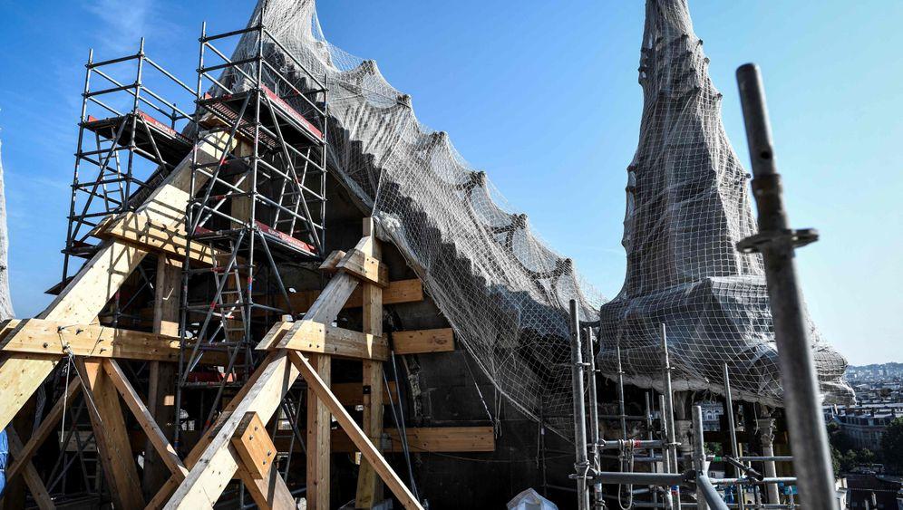 Notre-Dame: Mühsamer Aufbau