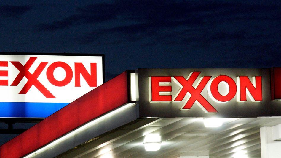 Exxon-Tankstelle in Virginia: Erwartungen übertroffen