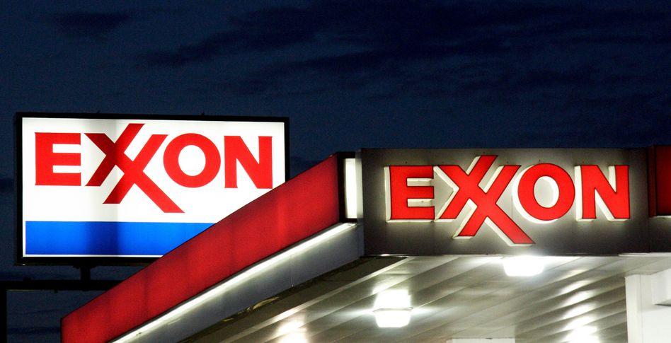 Exxon-Logo: Gefährlicher Gasrausch
