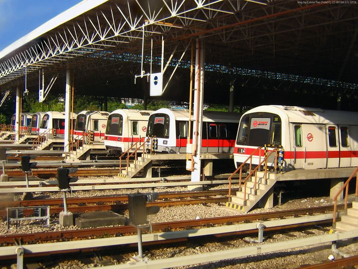 Der Tatort (Archiv): U-Bahn-Depot in Singapur