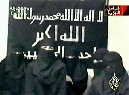 """Kamikaze-Frauen 2002 bei der Geiselnahme in einem Moskauer Theater: """"Wir werden Hunderte von Ungläubigen töten"""""""