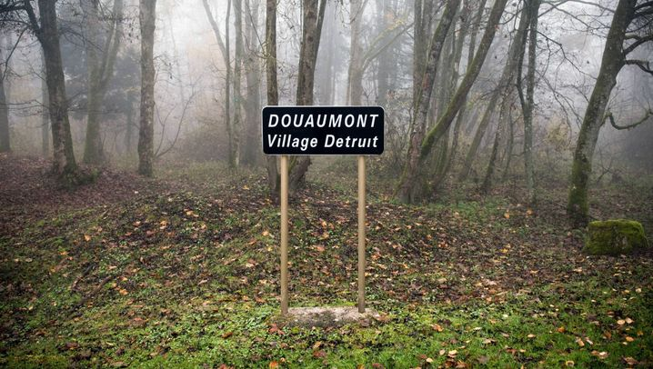Spuren der Schlacht: Verdun heute: Verseuchte Mondlandschaft