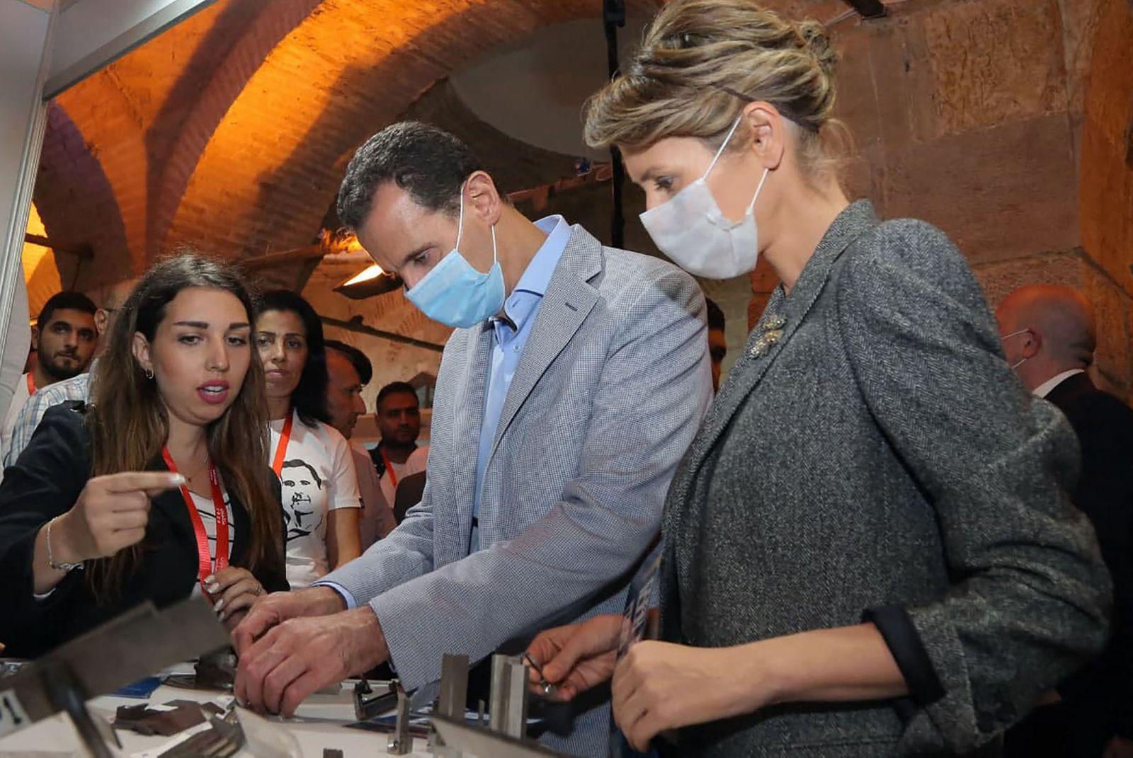 FILES-SYRIA-HEALTH-VIRUS-ASSAD