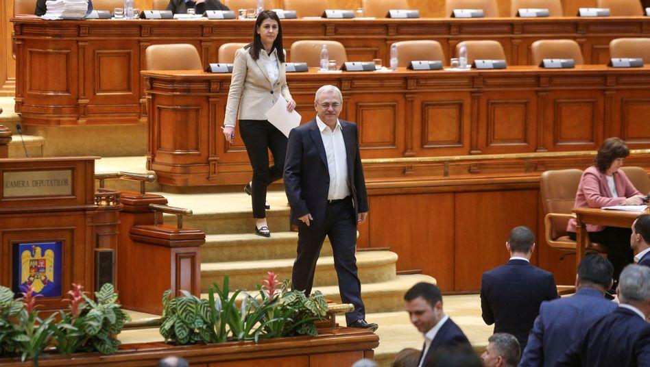 Sozialdemokraten Liviu Dragnea