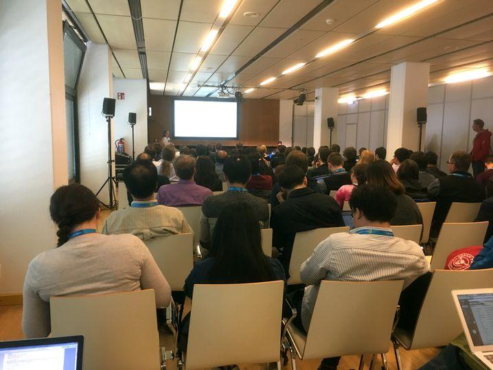 Seminar auf der EGU-Tagung in Wien