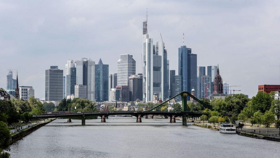 Bankenviertel in Frankfurt am Main