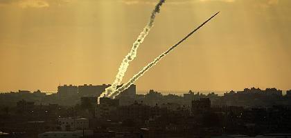 Raketen im Gaza-Streifen: Die Waffenpause bestand seit Wochen nur noch auf dem Papier