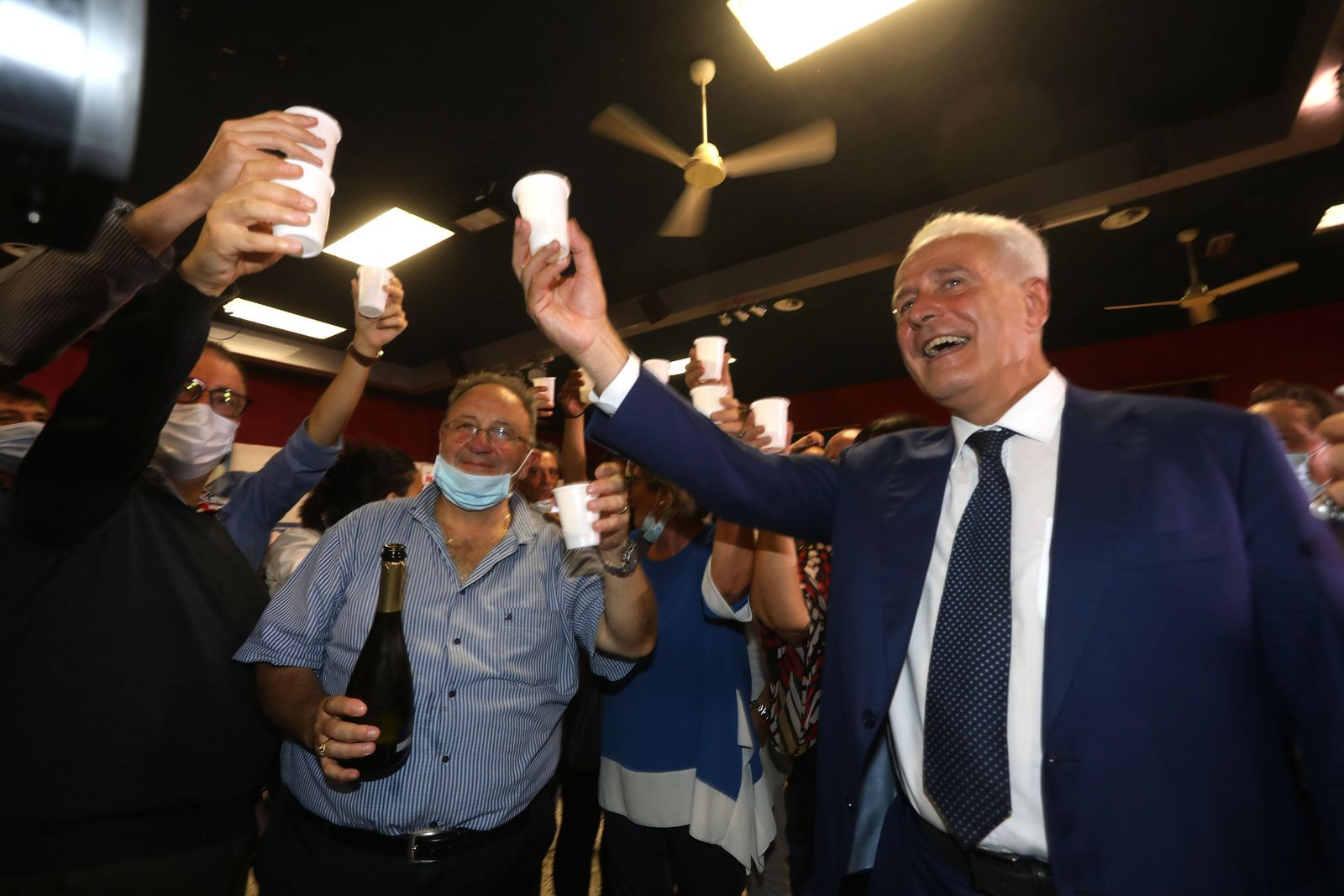 Regional elections in Italy; Toscana Region, Florence - 21 Sep 2020