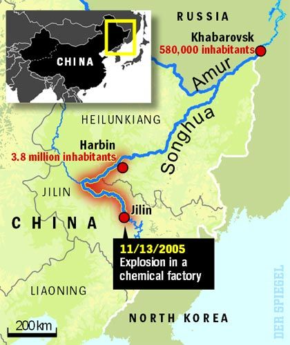 The Songhua River disaster.