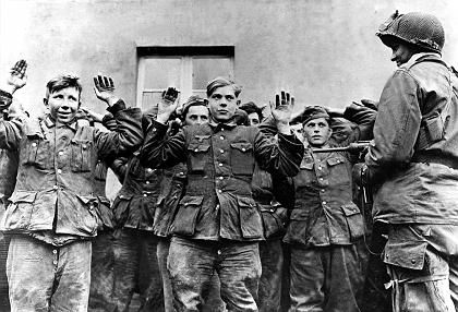 Towards the end of the war, Germany used younger and younger soldiers. More and more of them relied on drugs or alcohol for courage and endurance.