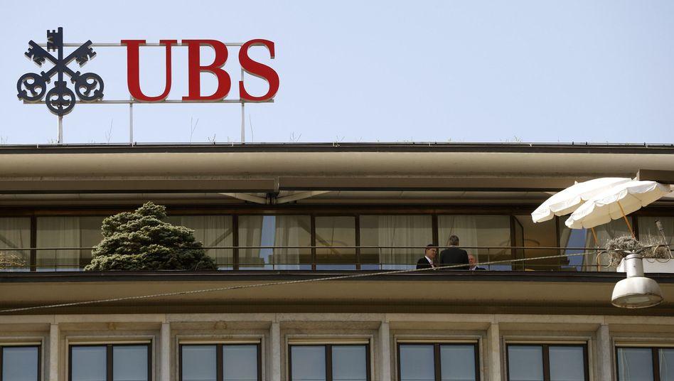 UBS-Gebäude in Zürich: Teure Forderung aus Frankreich