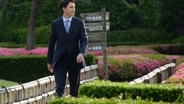 Kanadas Premier Trudeau: G7-Premiere in Japan