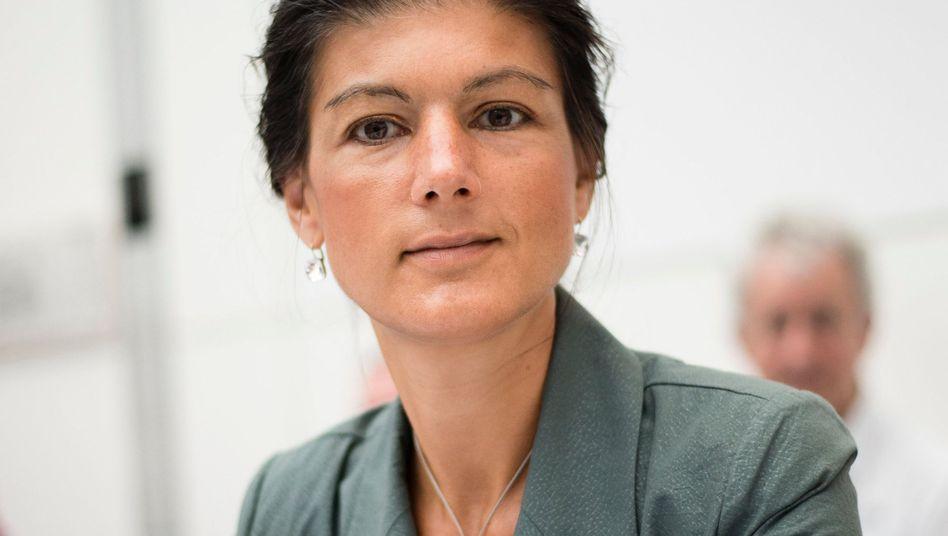 Sahra Wagenknecht: Designierte Vorsitzende der Linksfraktion im Bundestag