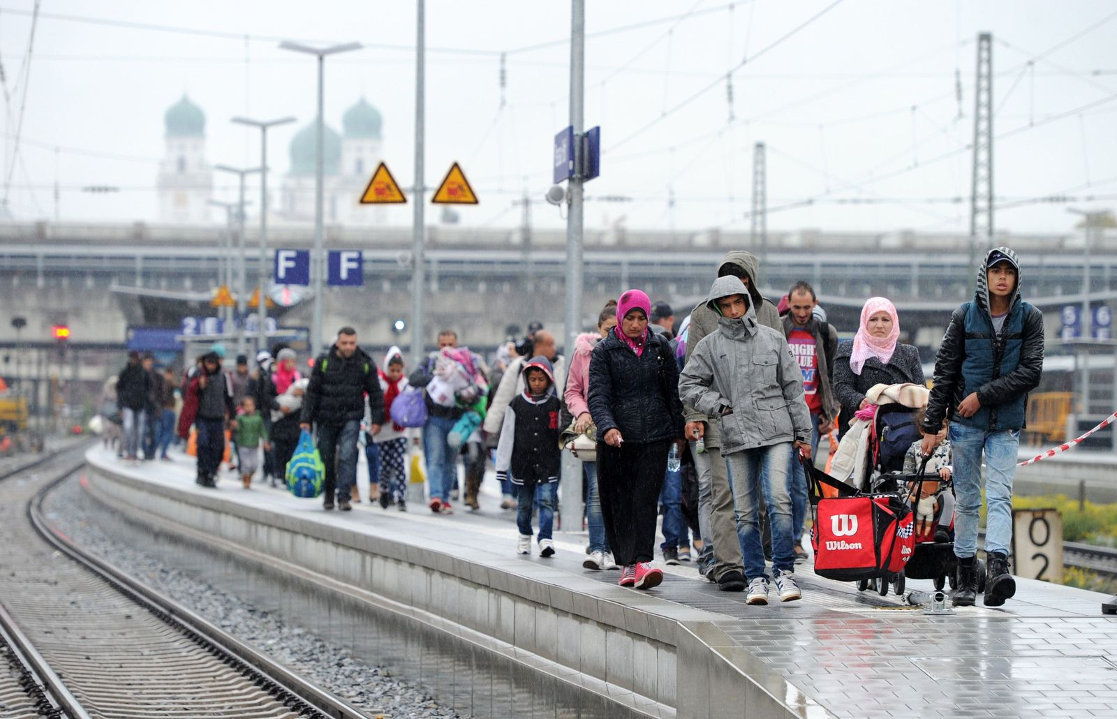 Flüchtlinge / Bayern / Passau