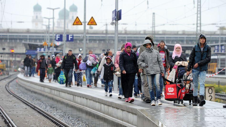 Flüchtlinge in Passau: Aus bayerischer Sicht ein Akt der Notwehr