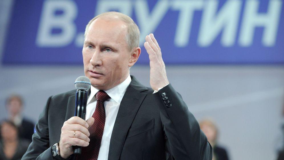 Putin und die Medien: Die Wahrheit bin ich