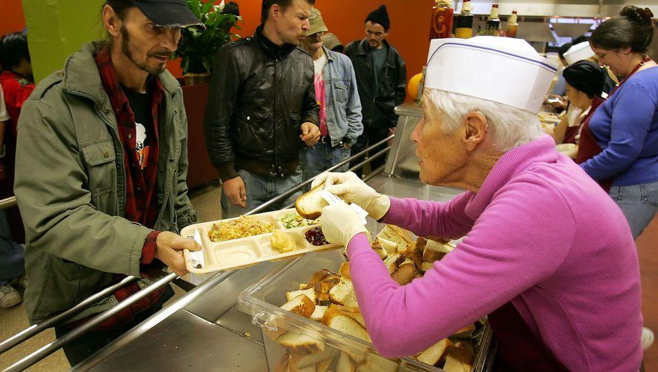 Suppenküche in San Francisco: Nicht immer regelmäßige Mahlzeiten