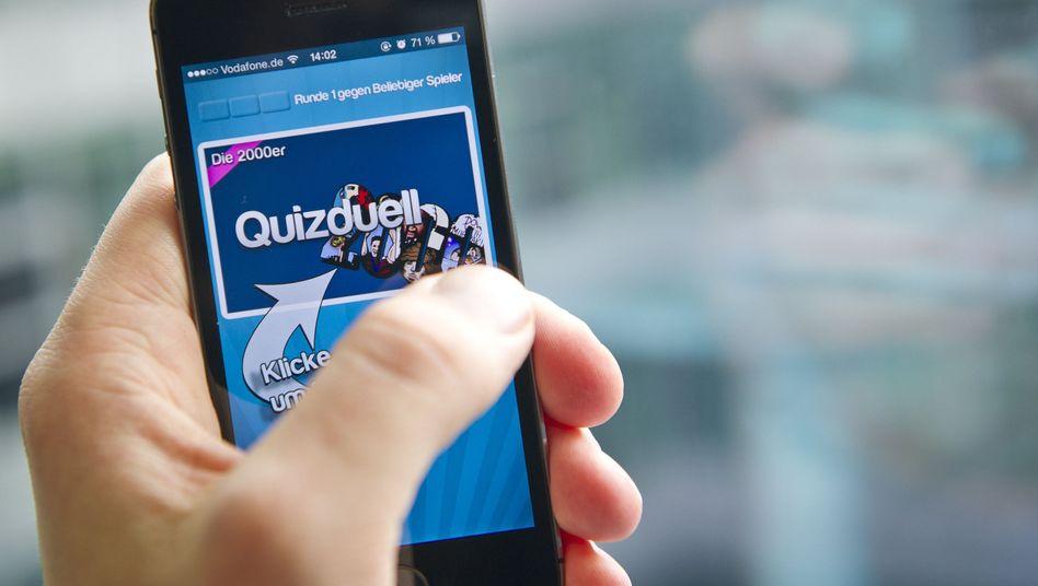 """Smartphone-App """"Quizduell"""": Demnächst auch im Fernsehen"""
