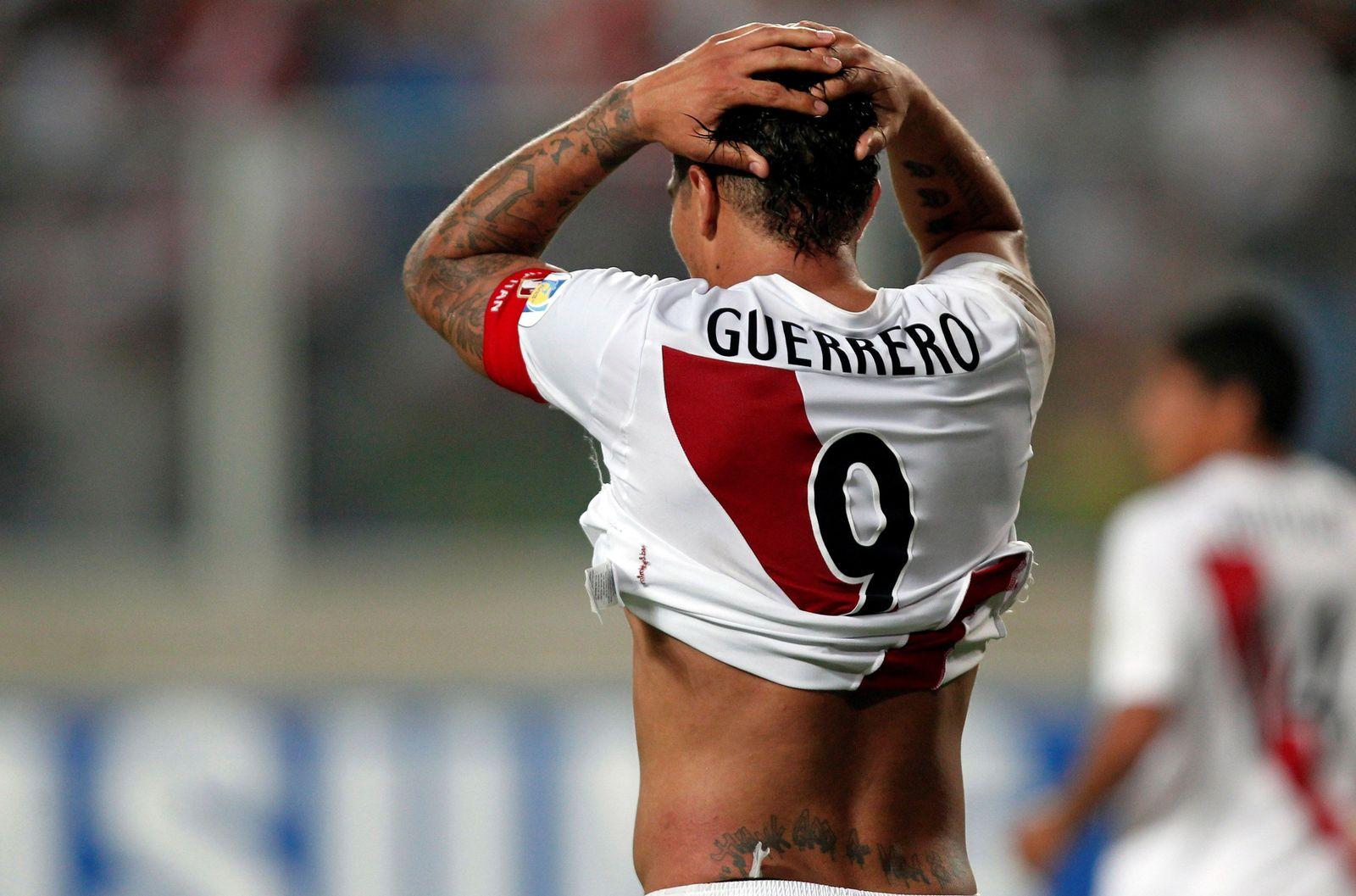 SOCCER-WORLDCUP-PER/GUERRERO