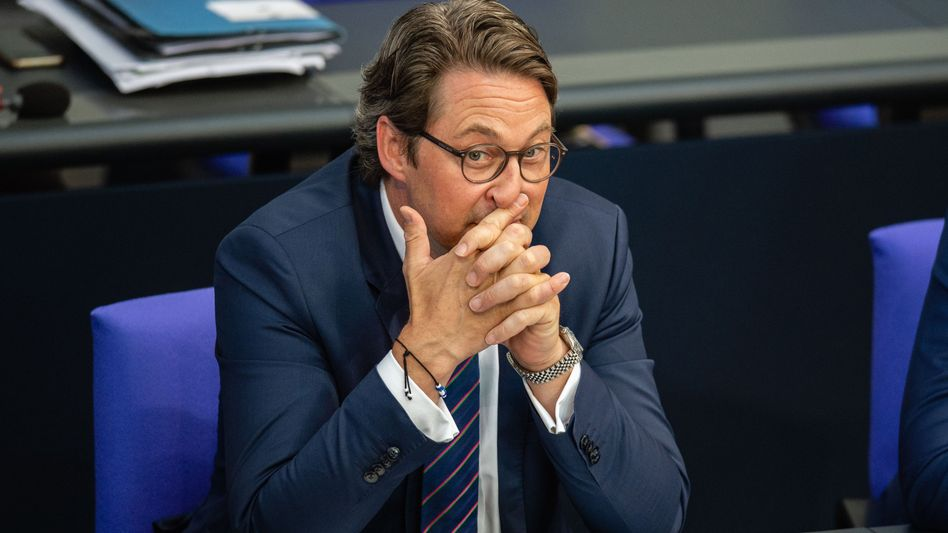 Bundesverkehrsminister Andreas Scheuer (CSU