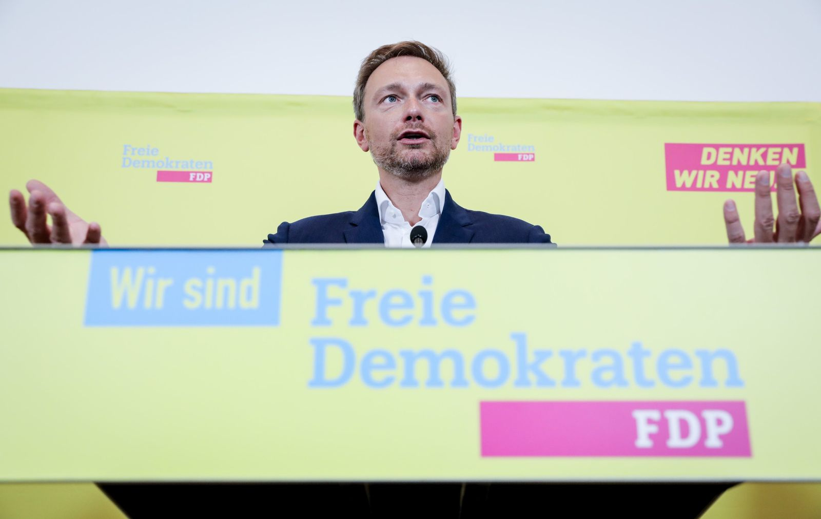 Pressekonferenz FDP