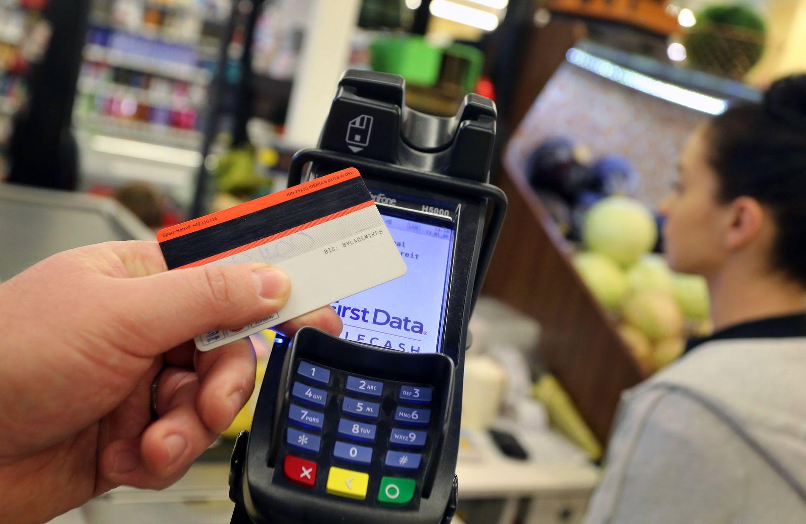 kontaktlose Zahlungen / Terminal