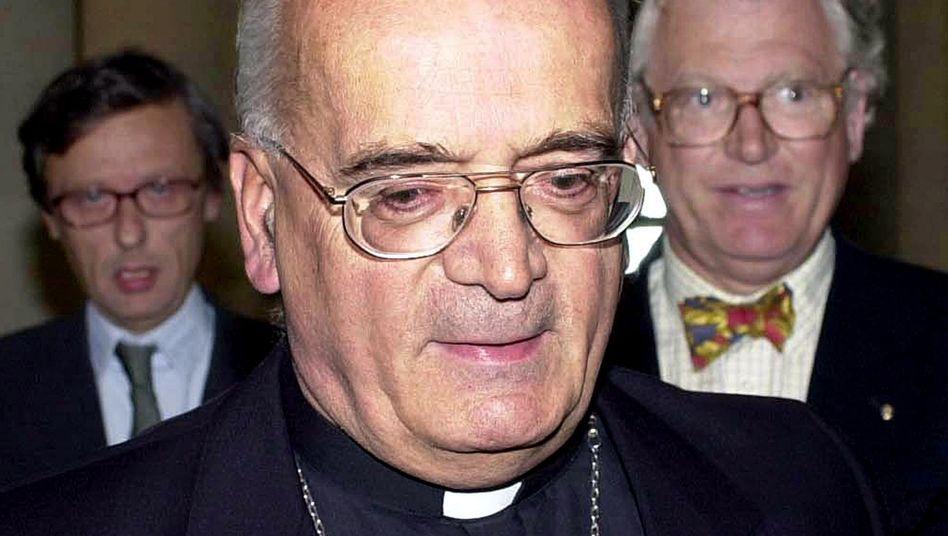 Französischer Bischof Pican (2001): Wissen über Taten nicht weitergegeben
