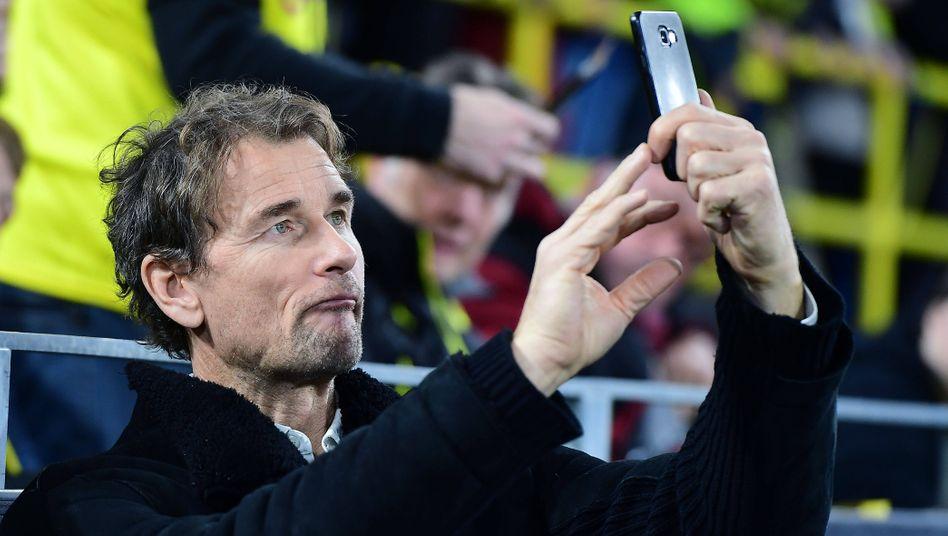 Jens Lehmann bei einem Bundesligaspiel im Dezember 2019