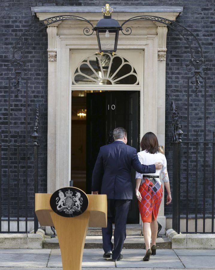 David Cameron nach seiner Rücktrittsankündigung