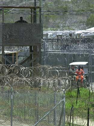 Gefangenenlager für Terroristen in Guantanamo: In den USA umstritten
