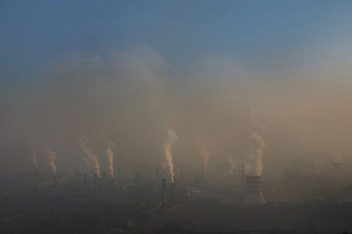 Luftverschmutzung in Qianan
