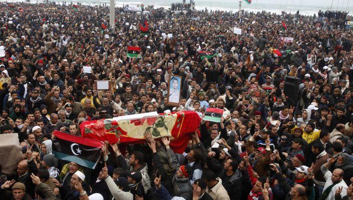 Aufstand in Libyen: Kampf gegen Gaddafi