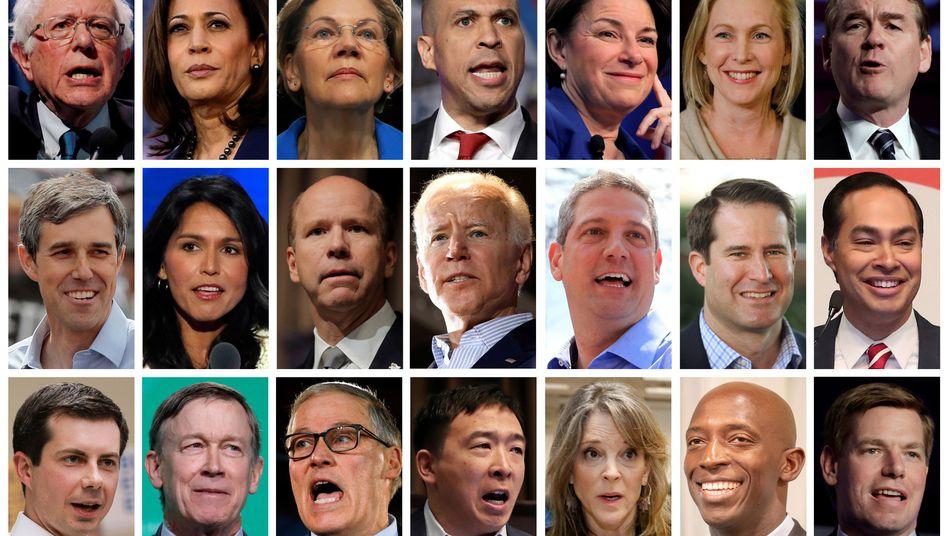 An Kandidaten herrscht kein Mangel