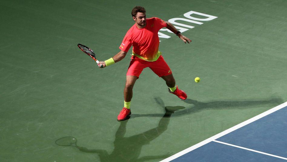 Schweizer Tennisprofi Wawrinka: Sieg im Finale von Dubai