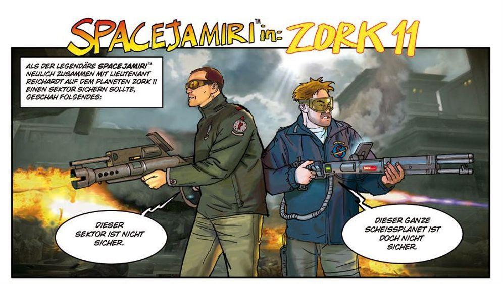 Jamiri-Comic: Gefühlte Sicherheit