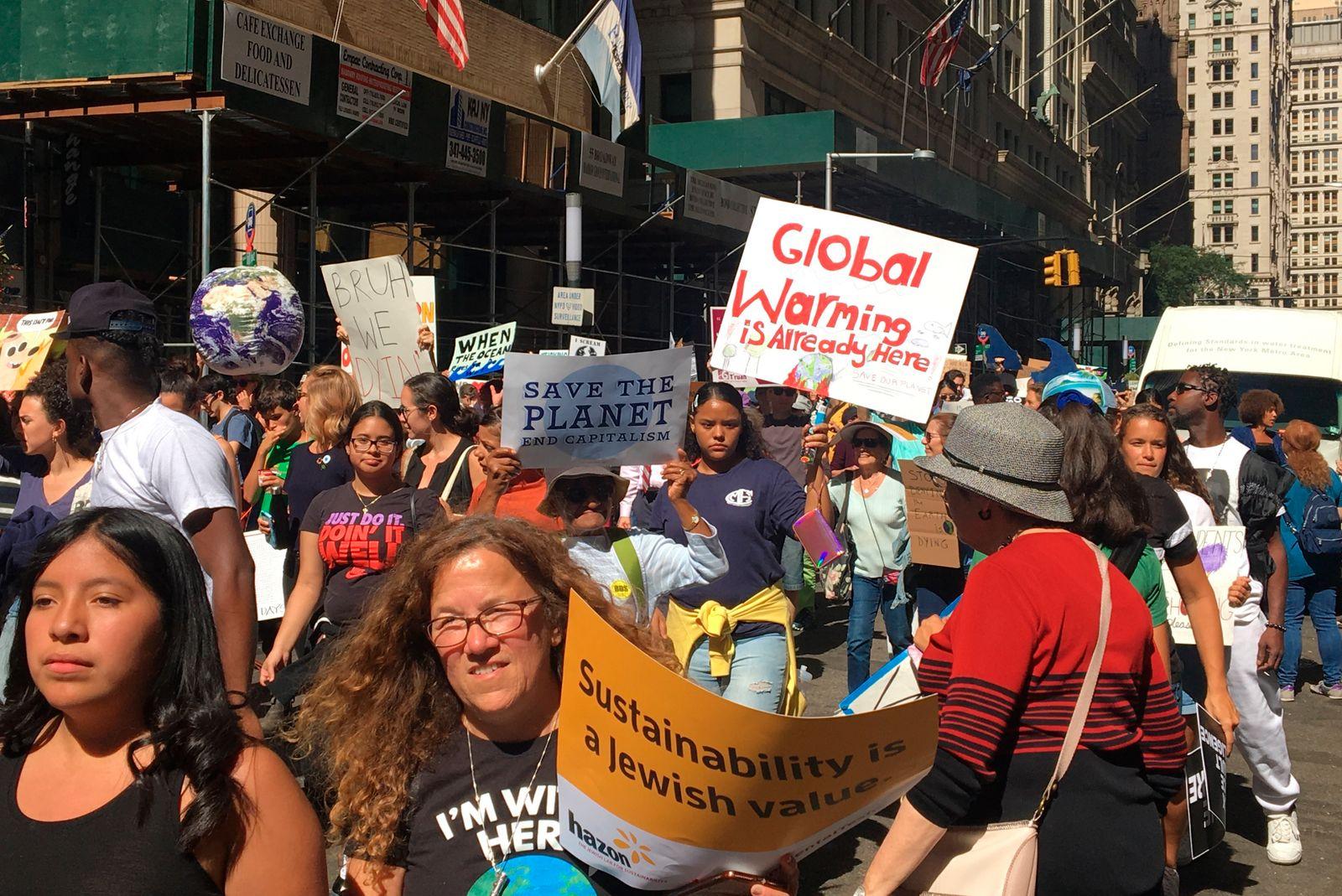 Global Climate Strike And Rally