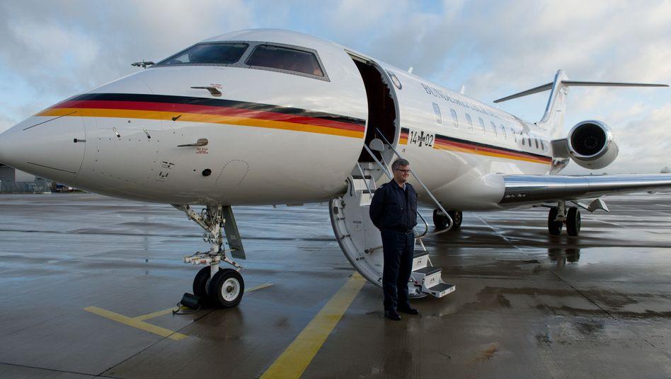 Maschine der Flugbereitschaft vom Typ Global 5000