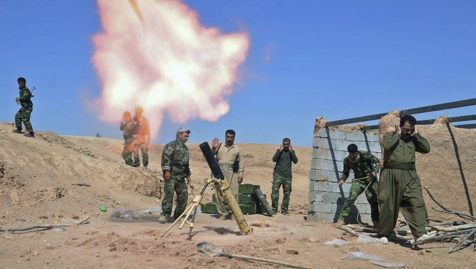 Peschmerga-Kämpfer im Irak (Archivfoto): Ausbildung durch Briten
