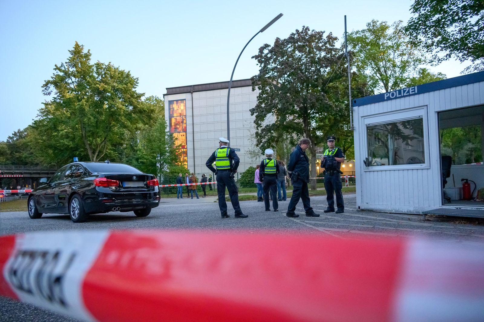 Angriff nahe der Hamburger Synagoge