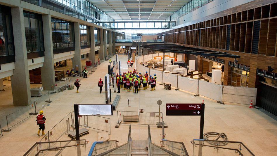 """Terminal des neuen Hauptstadtflughafens: """"Wir wollen präzise und auf den Punkt arbeiten"""""""