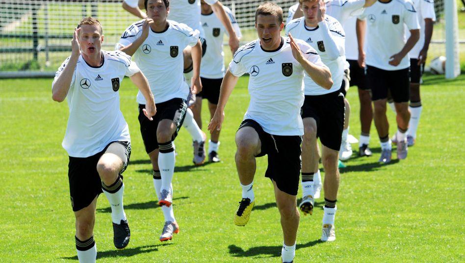 Training des WM-Teams in Südtirol: Traum vom Titel