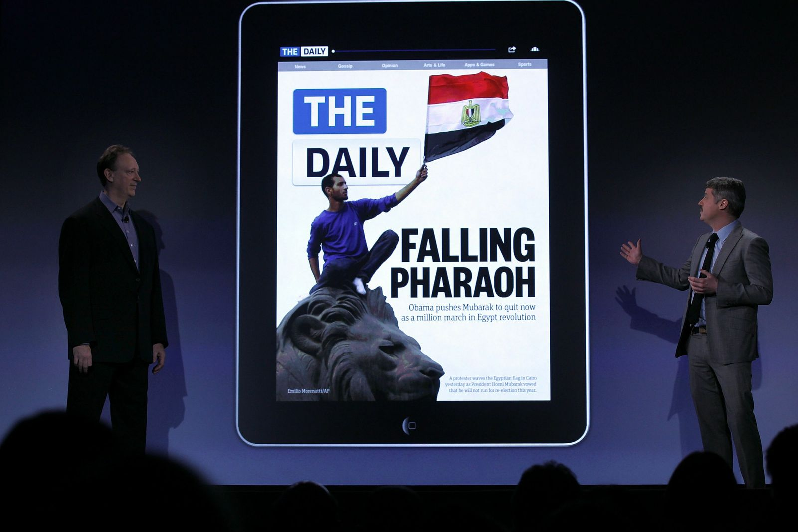 Nrewscorp The Daily iPad
