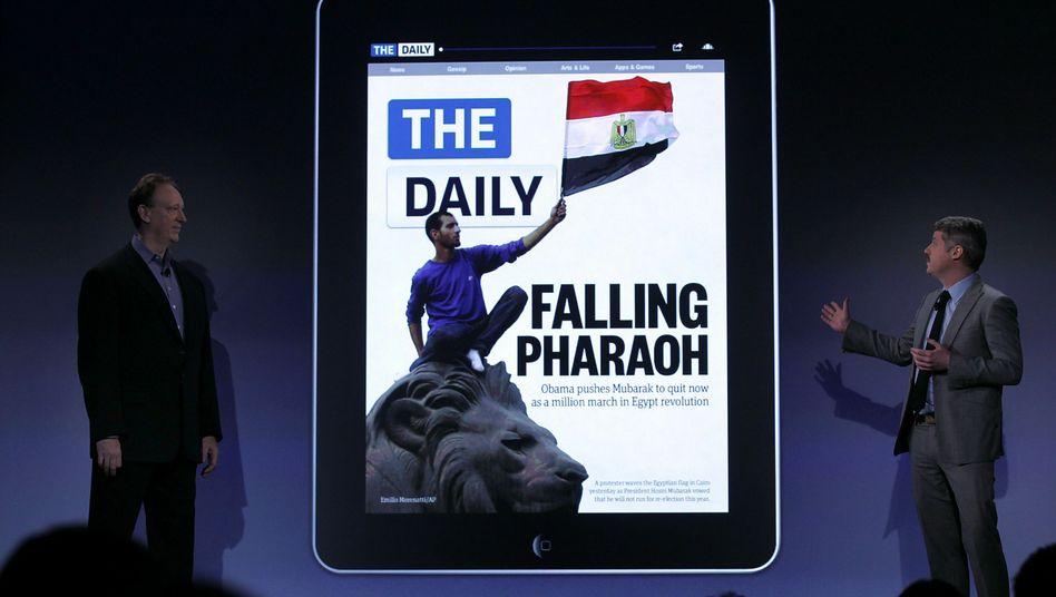 """""""The Daily"""": So sieht die Zeitung der Zukunft aus - wenn es nach Rupert Murdoch geht"""