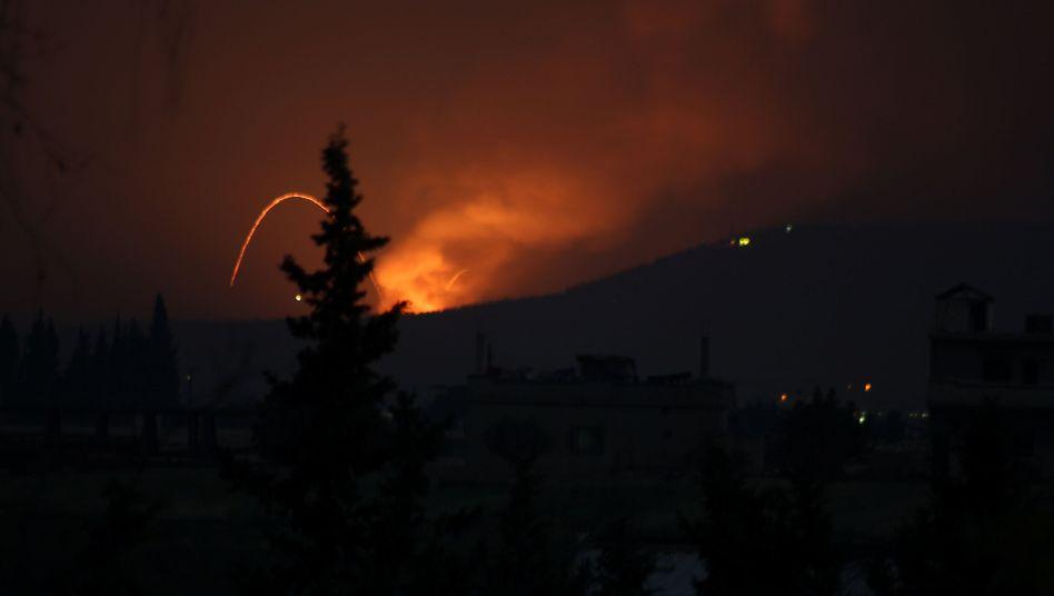 Nächtlicher Angriff in Syrien: Israel gegen Iran?