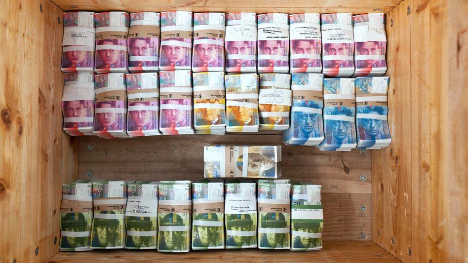 Franken: Starke Währung ist akute Bedrohung für die Exportindustrie