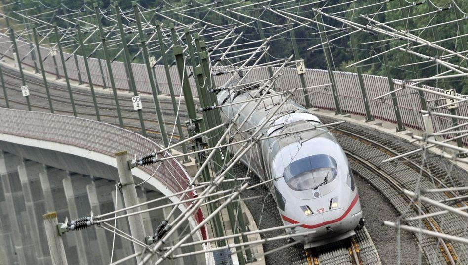 ICE der Deutschen Bahn: Probleme mit Klimaanlagen