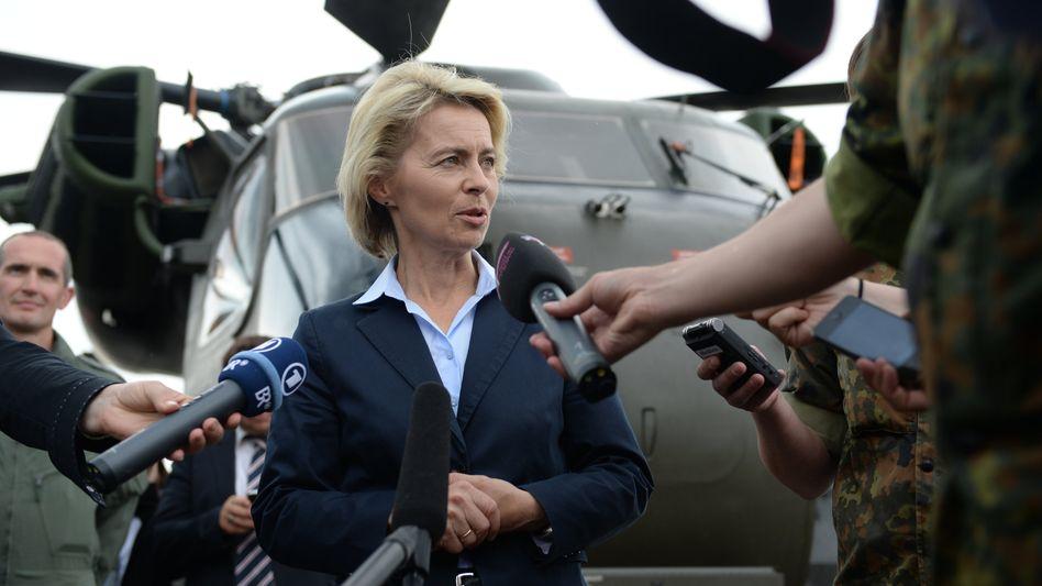 """Bundesverteidigungsministerin von der Leyen: """"Alle Möglichkeiten ausnutzen"""""""