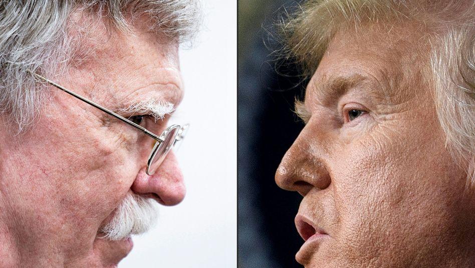 Ukraine-Affäre: Trump attackiert Bolton