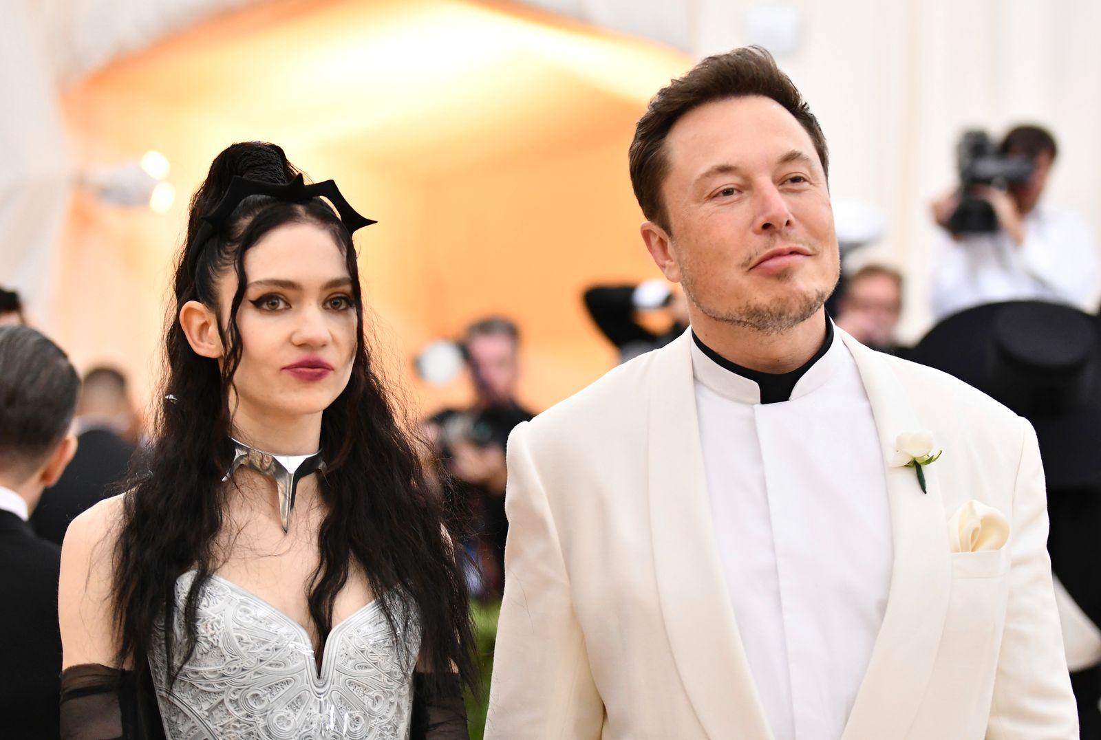 Grimes,Elon Musk
